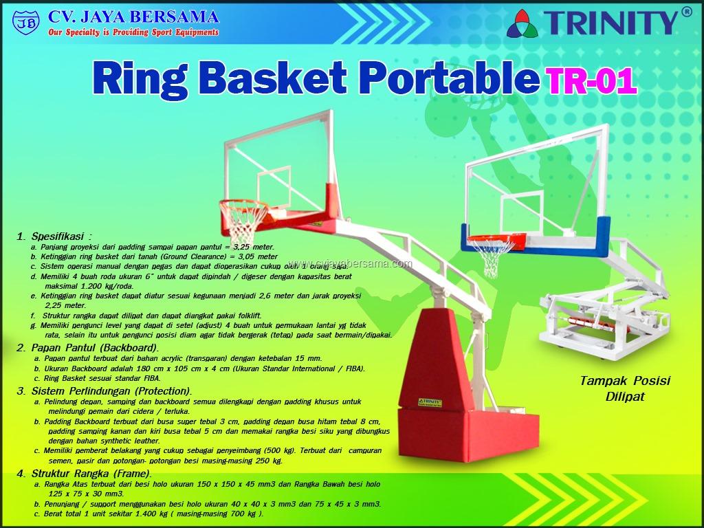 Ring Basket Portabel TR 01 Standar PERBASI Portable